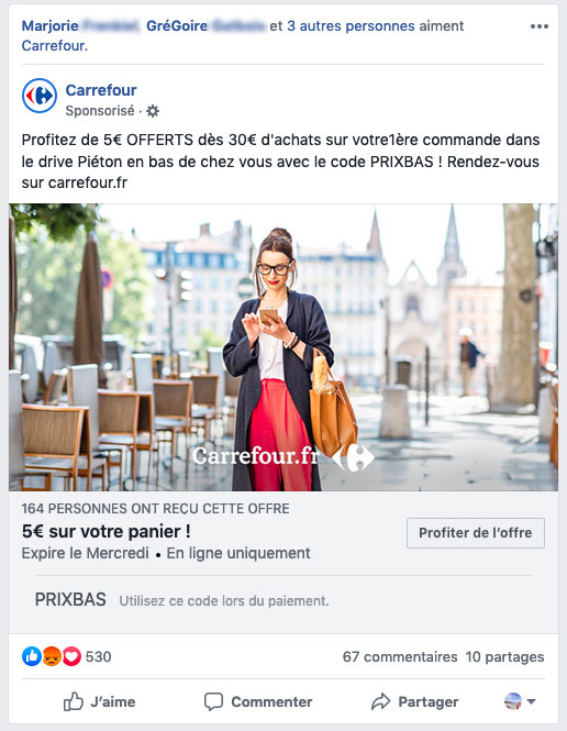 retargeting via facebook